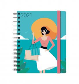 """Dohe – Agenda Sophie """"Diseñada por María Diamantes"""" – Semana Vista – 15 x 21 cm."""