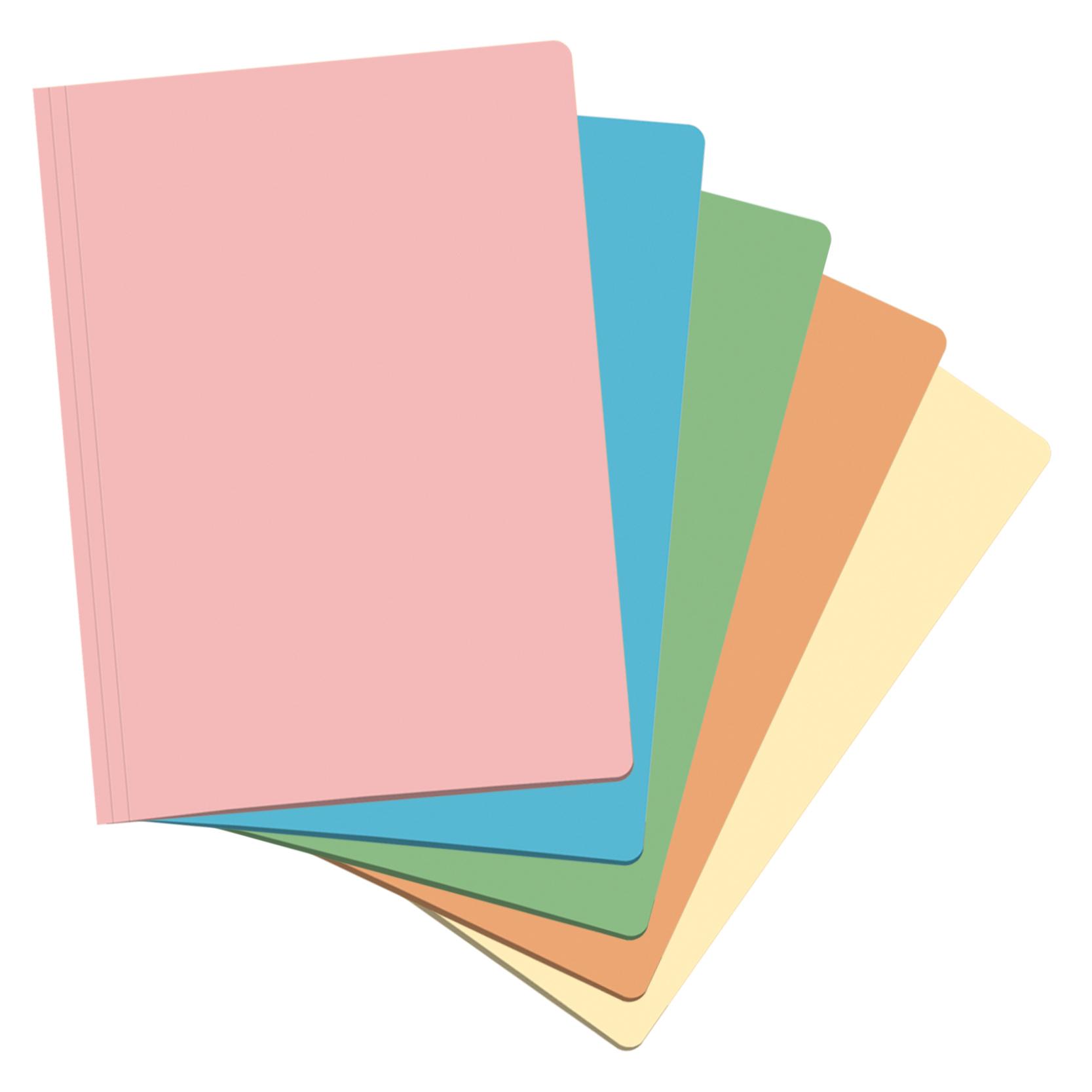 Folio Dohe Amarillo suave Pack Subcarpetas 50 uds.