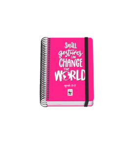 Agenda escolar A6 espiral Día página – WWF – World